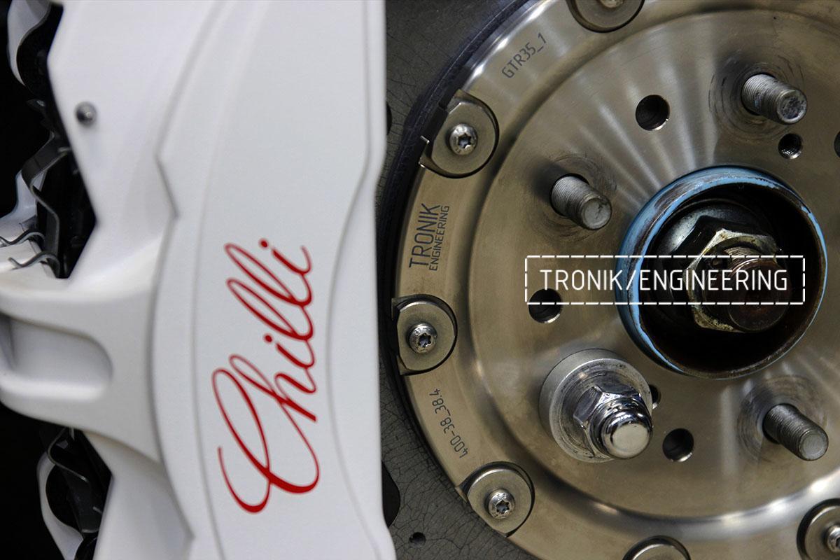Комплект карбон-керамической тормозной системы Nissan GT-R. Фотография 7