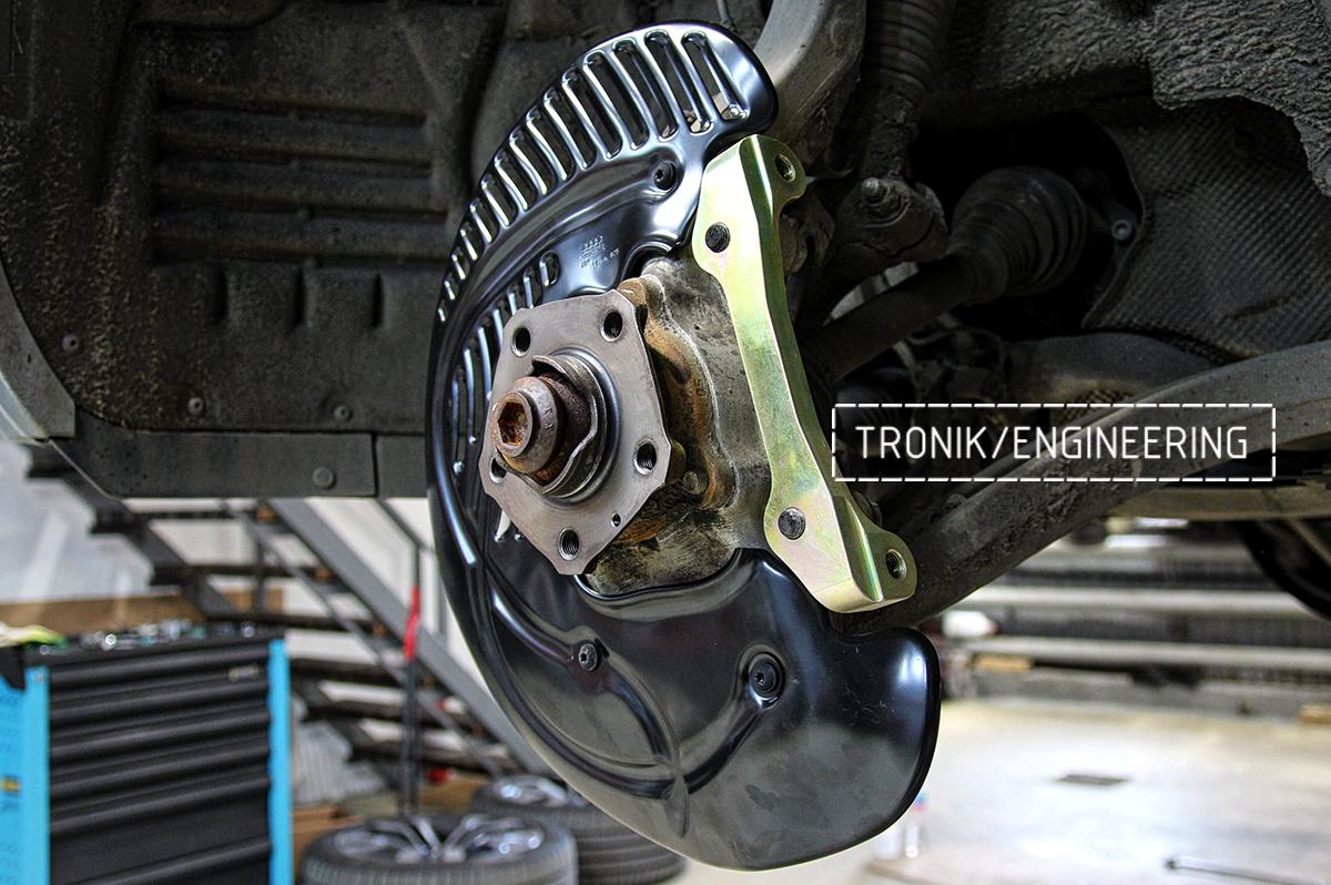 Комплект карбон-керамической тормозной системы VW Touareg. Фотография 13