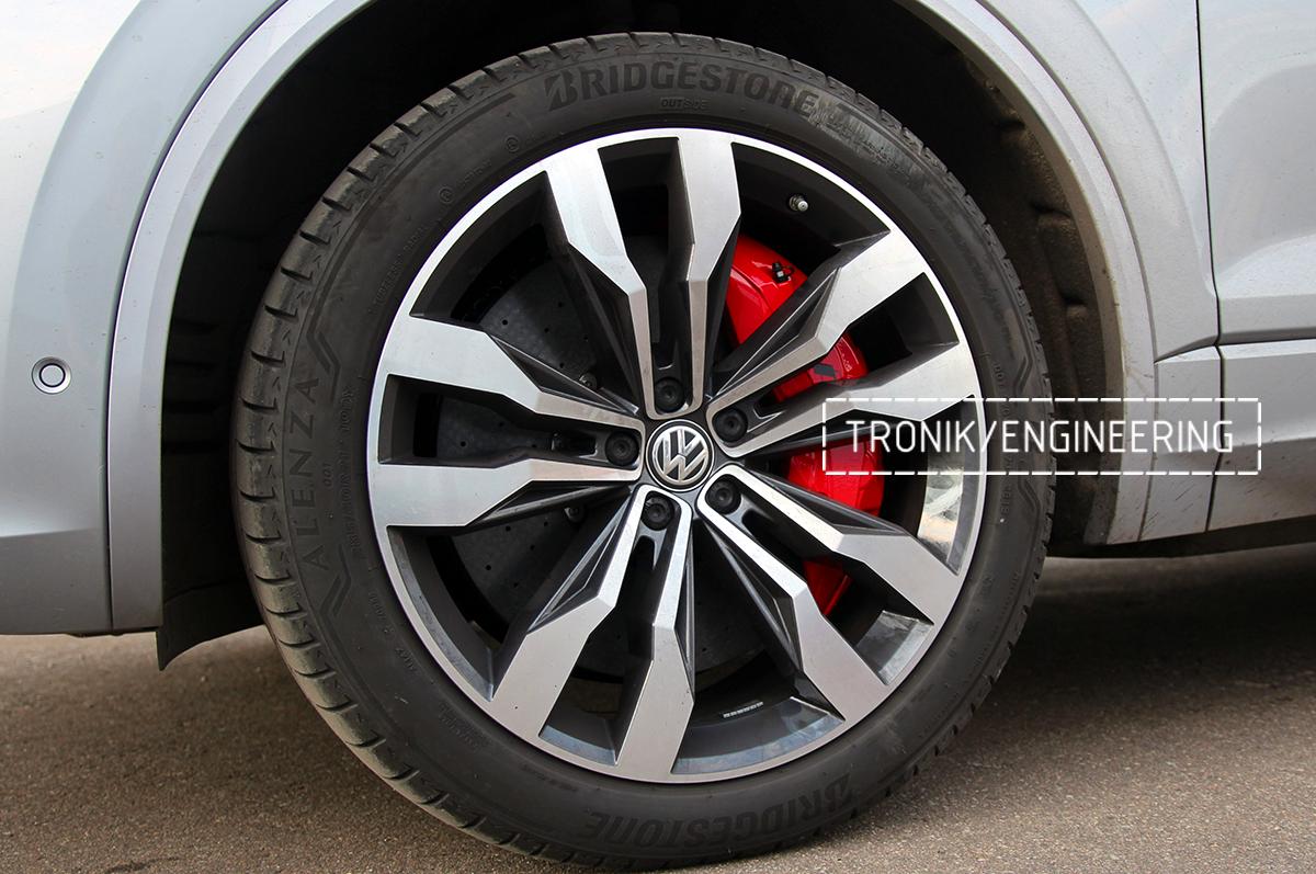 Комплект карбон-керамической тормозной системы VW Touareg. Фотография 20
