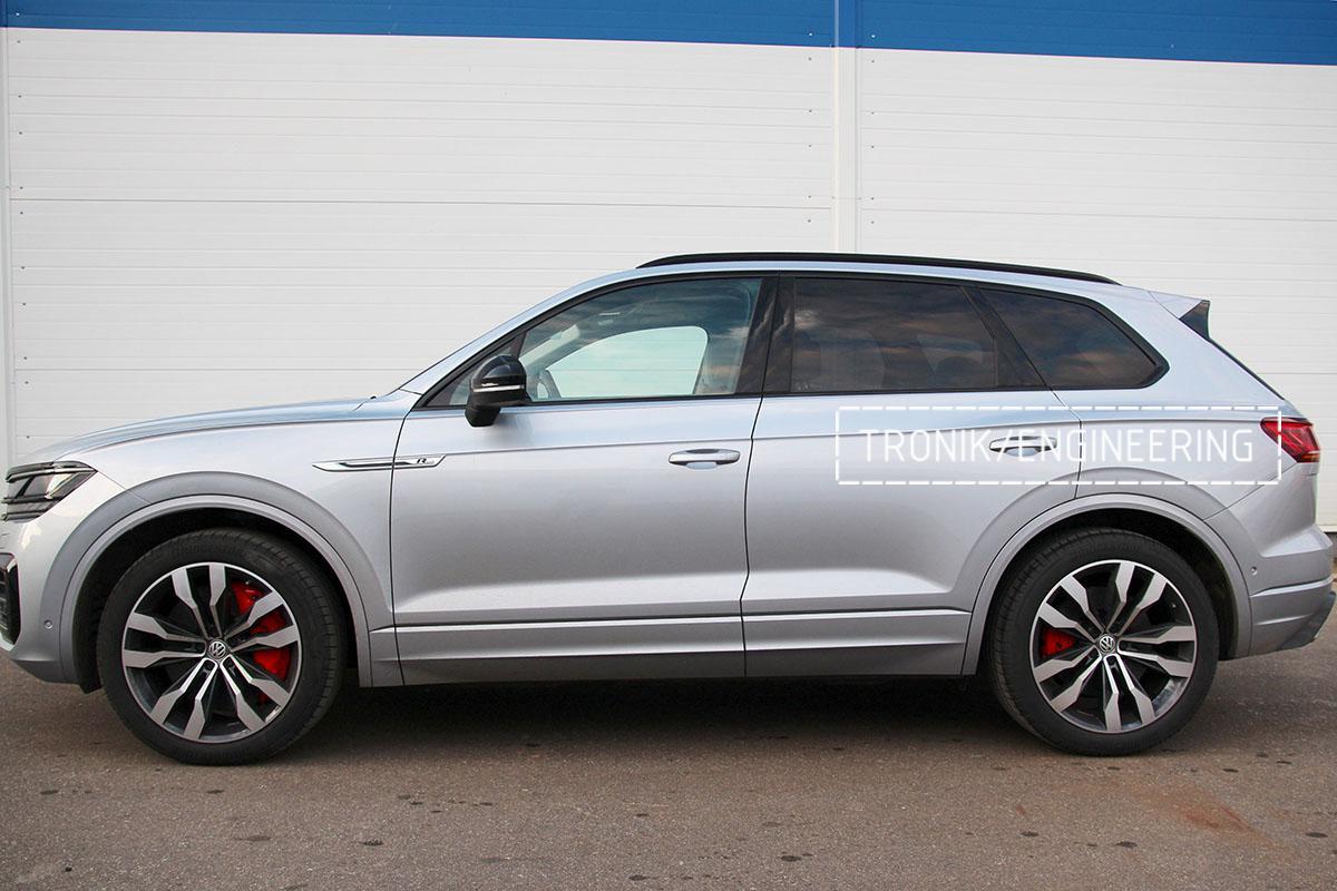 Комплект карбон-керамической тормозной системы VW Touareg. Фотография 23