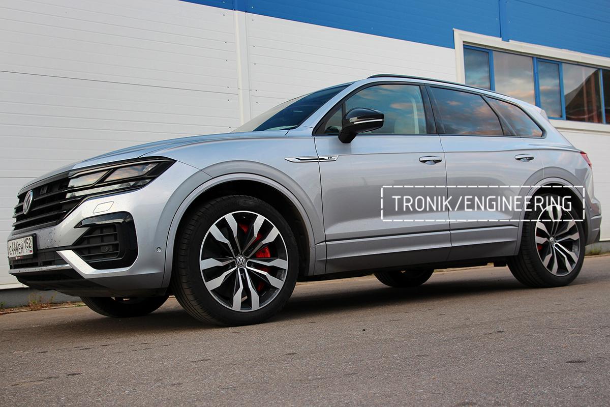 Комплект карбон-керамической тормозной системы VW Touareg. Фотография 25