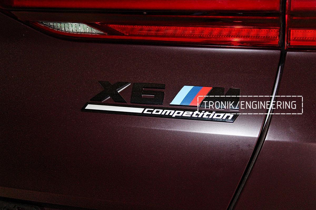 Комплект карбон-керамической тормозной системы BMW X6 F96. Фотография 32