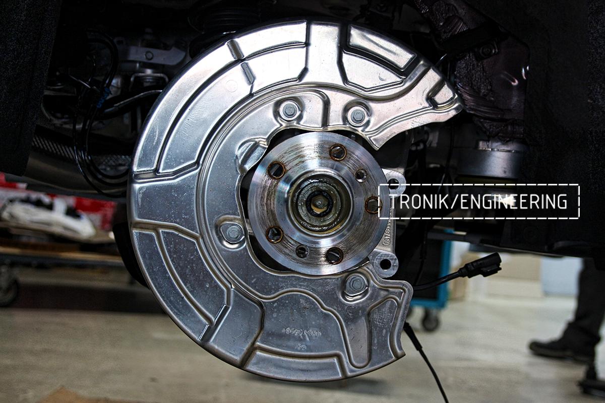 Комплект карбон-керамической тормозной системы BMW X6 F96. Фотография 31