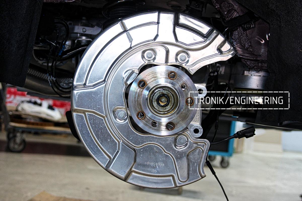 Комплект карбон-керамической тормозной системы BMW X6 F96. Фотография 30