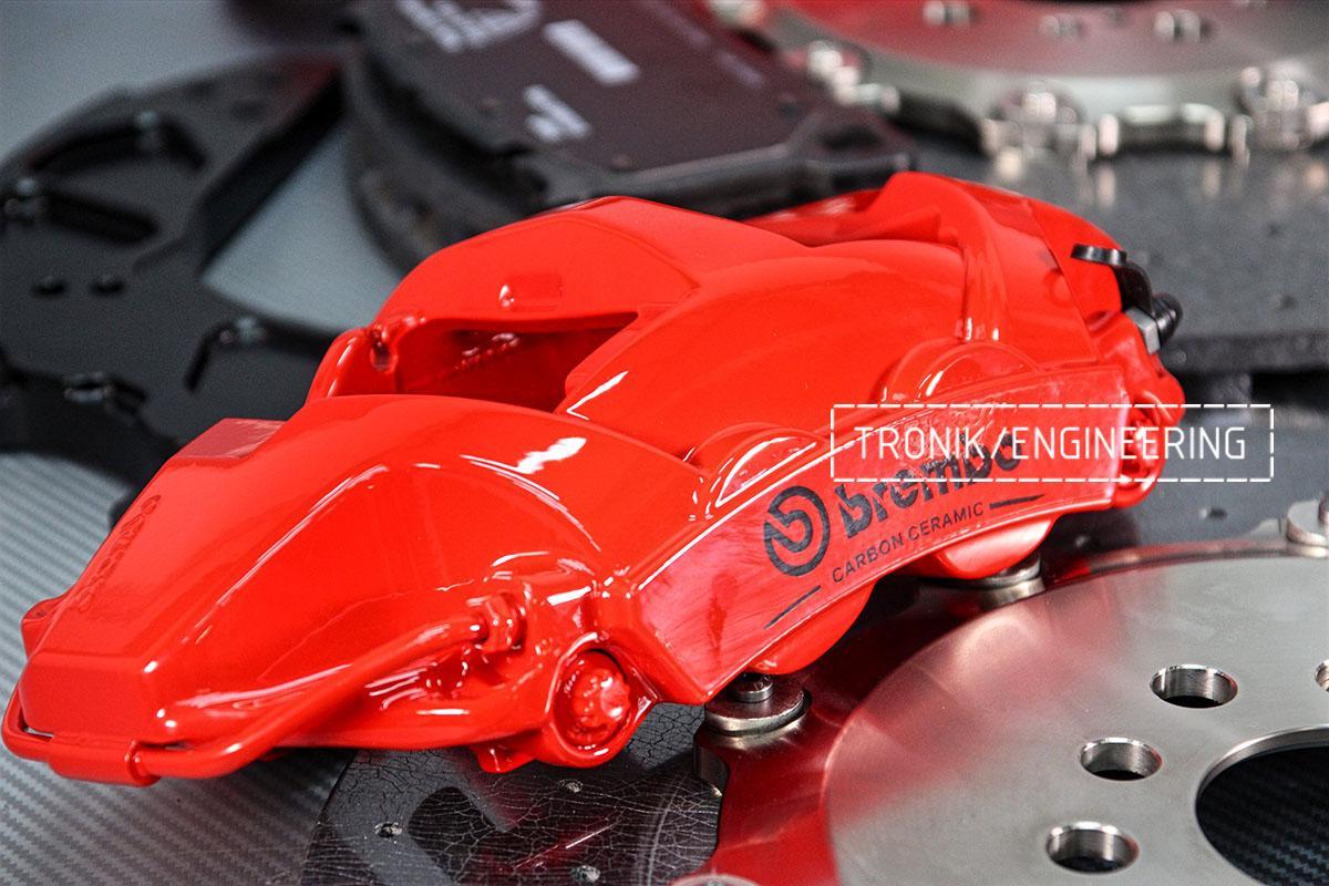 Комплект карбон-керамической тормозной системы BMW X6 F96. Фотография 2