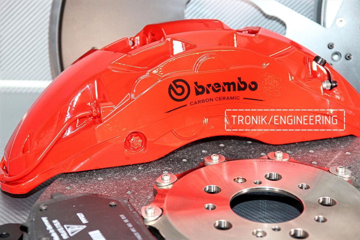 Комплект карбон-керамической тормозной системы BMW X6 F96. Фотография 3