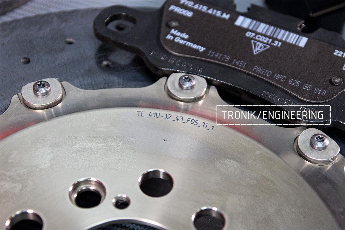Комплект карбон-керамической тормозной системы BMW X6 F96. Фотография 27