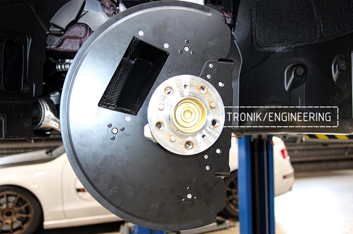 Комплект карбон-керамической тормозной системы BMW X6 F96. Фотография 25