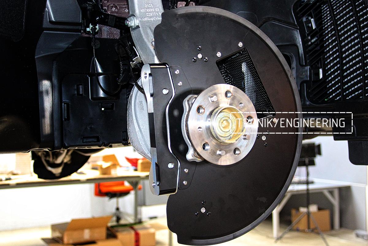 Комплект карбон-керамической тормозной системы BMW X6 F96. Фотография 23