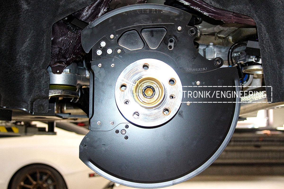 Комплект карбон-керамической тормозной системы BMW X6 F96. Фотография 21