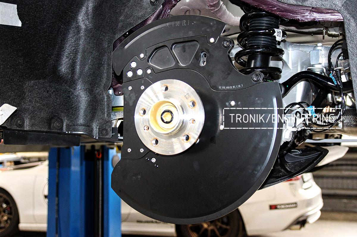 Комплект карбон-керамической тормозной системы BMW X6 F96. Фотография 20