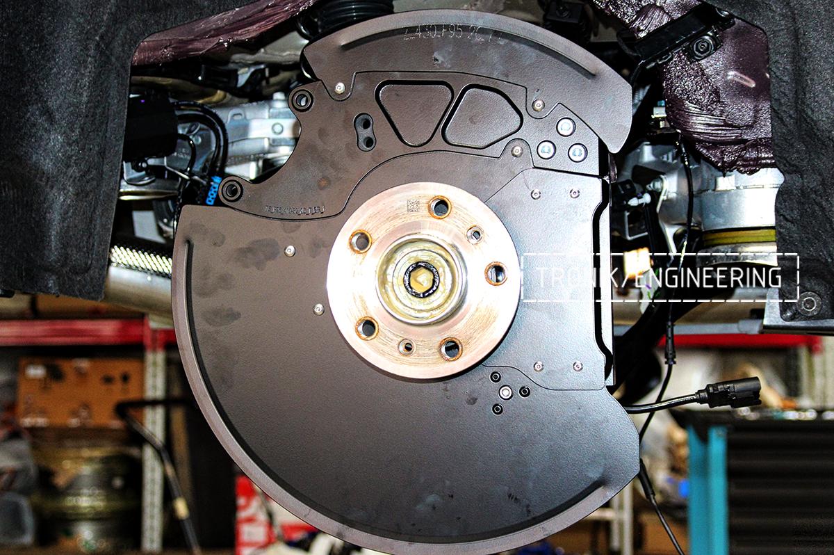 Комплект карбон-керамической тормозной системы BMW X6 F96. Фотография 19