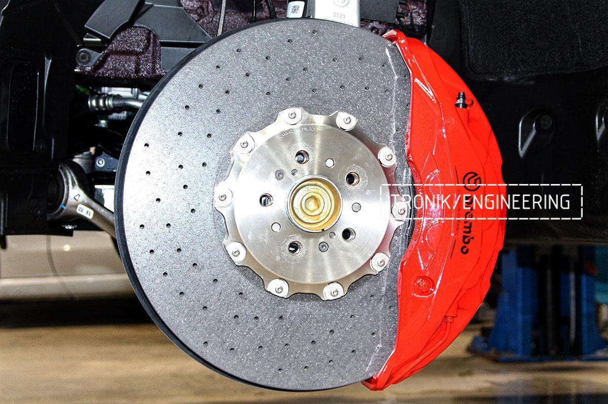 Комплект карбон-керамической тормозной системы BMW X6 F96. Фотография 18