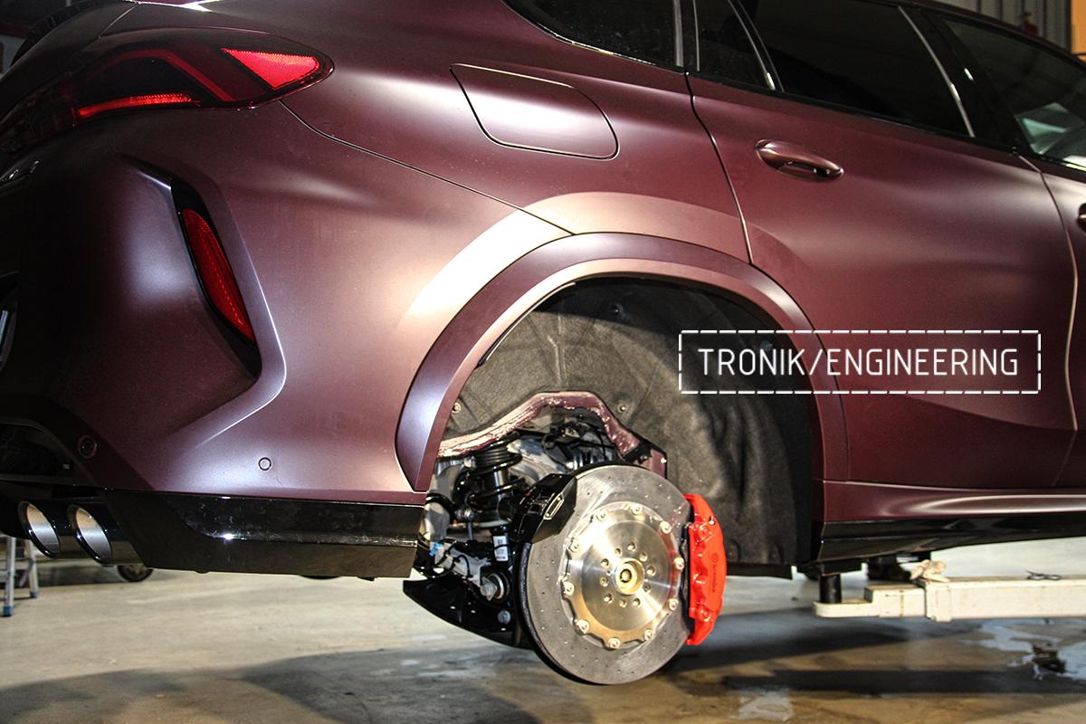 Комплект карбон-керамической тормозной системы BMW X6 F96. Фотография 14