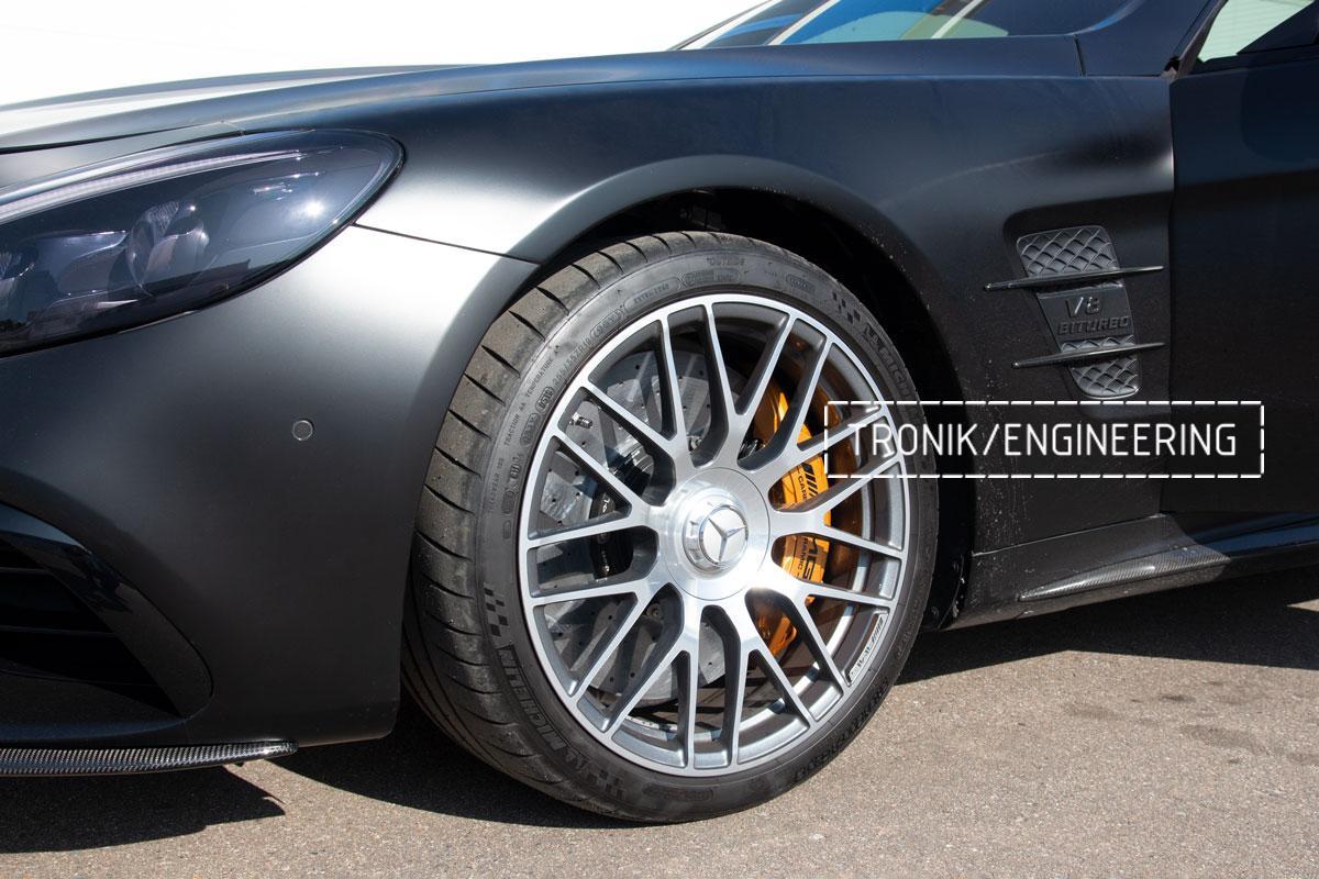 Комплект карбоно-керамической тормозной системы Mercedes-Benz SLS W231 63 AMG. Фотография 22