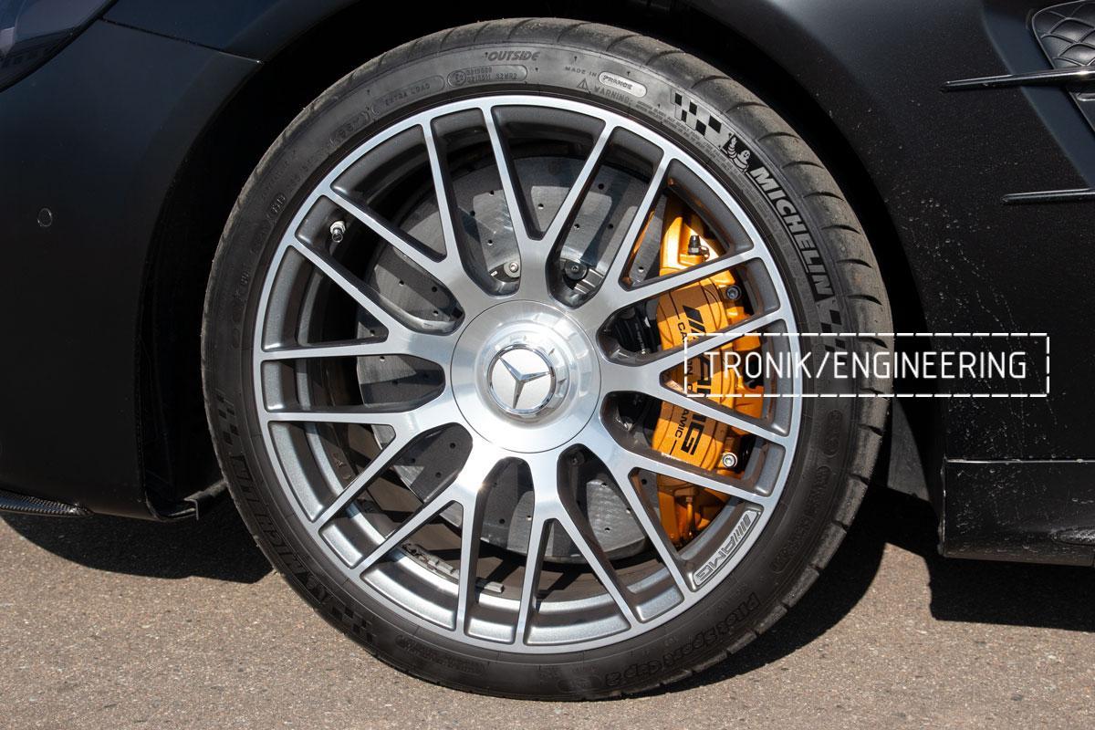 Комплект карбоно-керамической тормозной системы Mercedes-Benz SLS W231 63 AMG. Фотография 18
