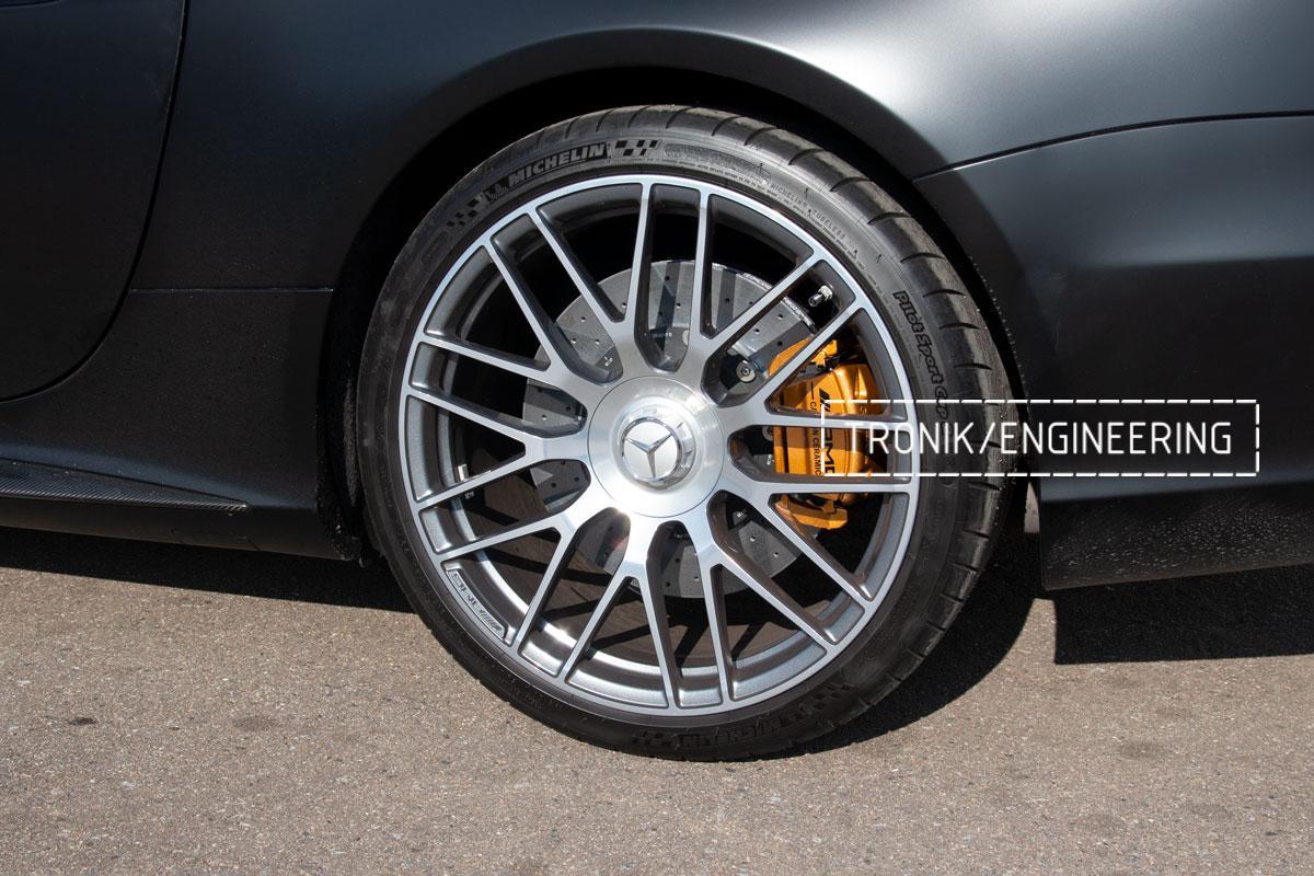 Комплект карбоно-керамической тормозной системы Mercedes-Benz SLS W231 63 AMG. Фотография 19