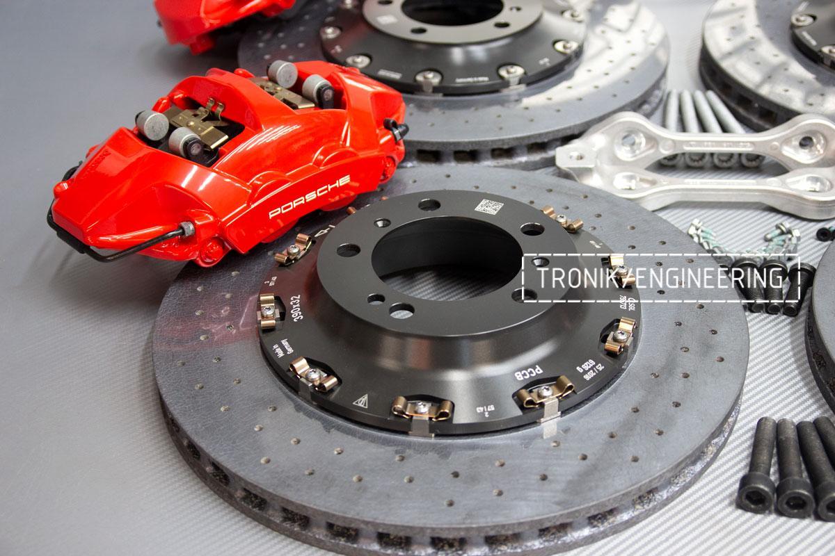 Карбон-керамическая тормозная система Porsche 992 Carrera. Фотография 10