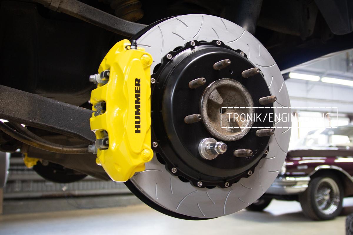 Тормозная система Hummer H2. Фотография 21