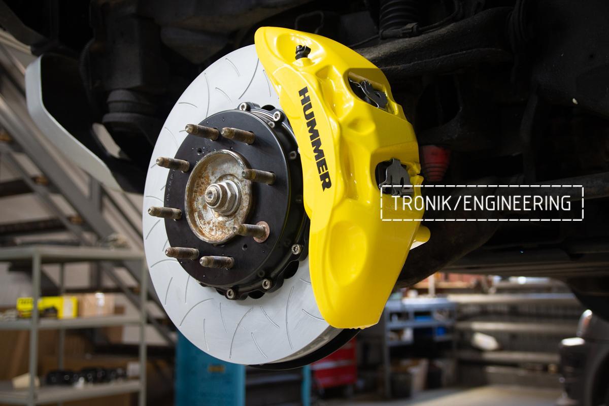 Тормозная система Hummer H2. Фотография 19