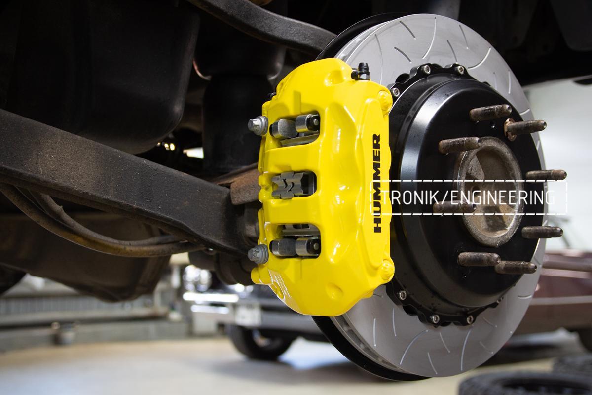 Тормозная система Hummer H2. Фотография 20