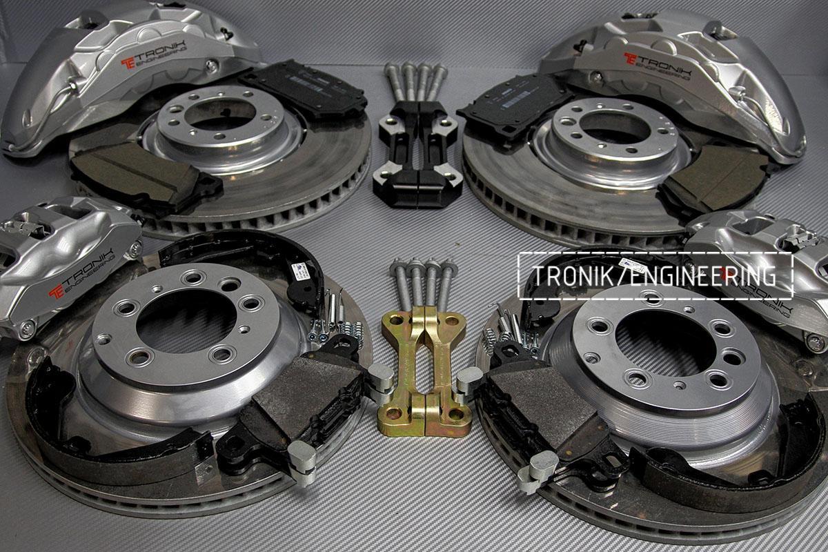 Комплект тормозной системы AUDI Q7. Фото 1