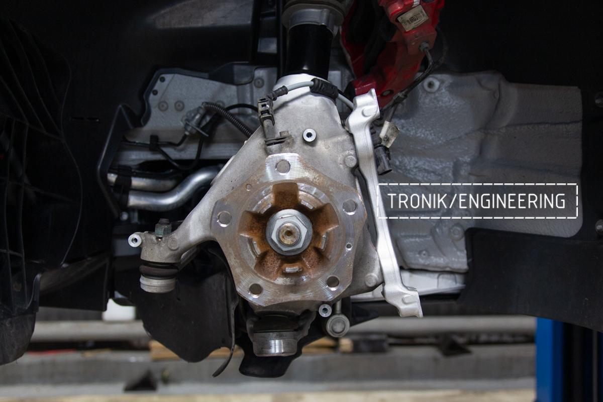Карбон-керамическая тормозная система Porsche 992 Carrera. Фотография 11