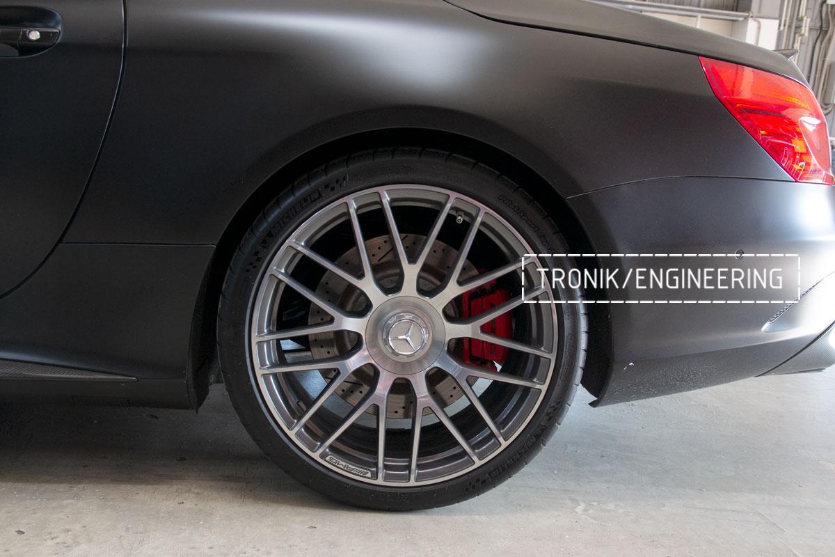 Комплект карбоно-керамической тормозной системы Mercedes-Benz SLS W231 63 AMG. Фотография 2