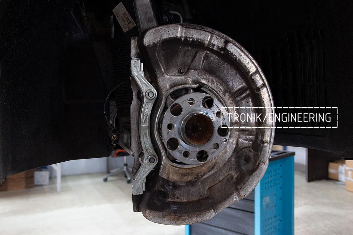 Комплект карбоно-керамической тормозной системы Mercedes-Benz SLS W231 63 AMG. Фотография 11