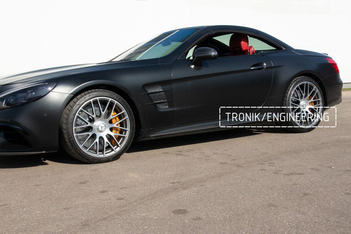 Комплект карбоно-керамической тормозной системы Mercedes-Benz SLS W231 63 AMG. Фотография 23