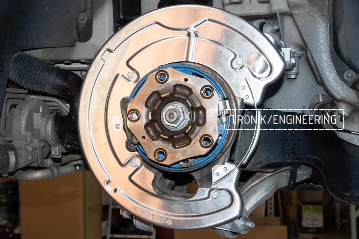Карбон-керамическая тормозная система Porsche 992 Carrera. Фотография 12