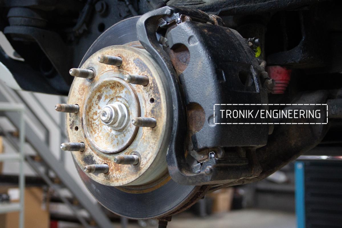 Тормозная система Hummer H2. Фотография 2