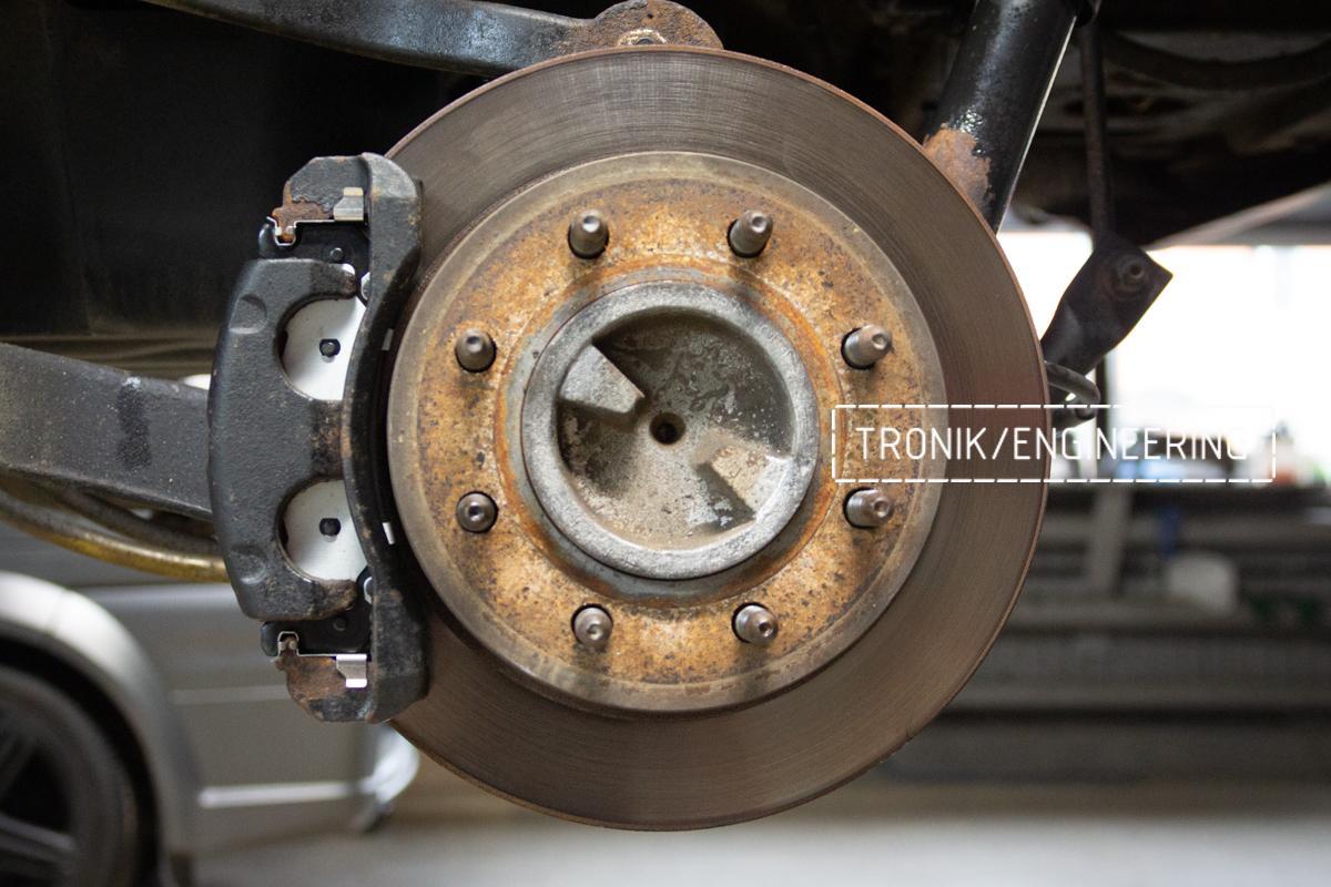 Тормозная система Hummer H2. Фотография 3