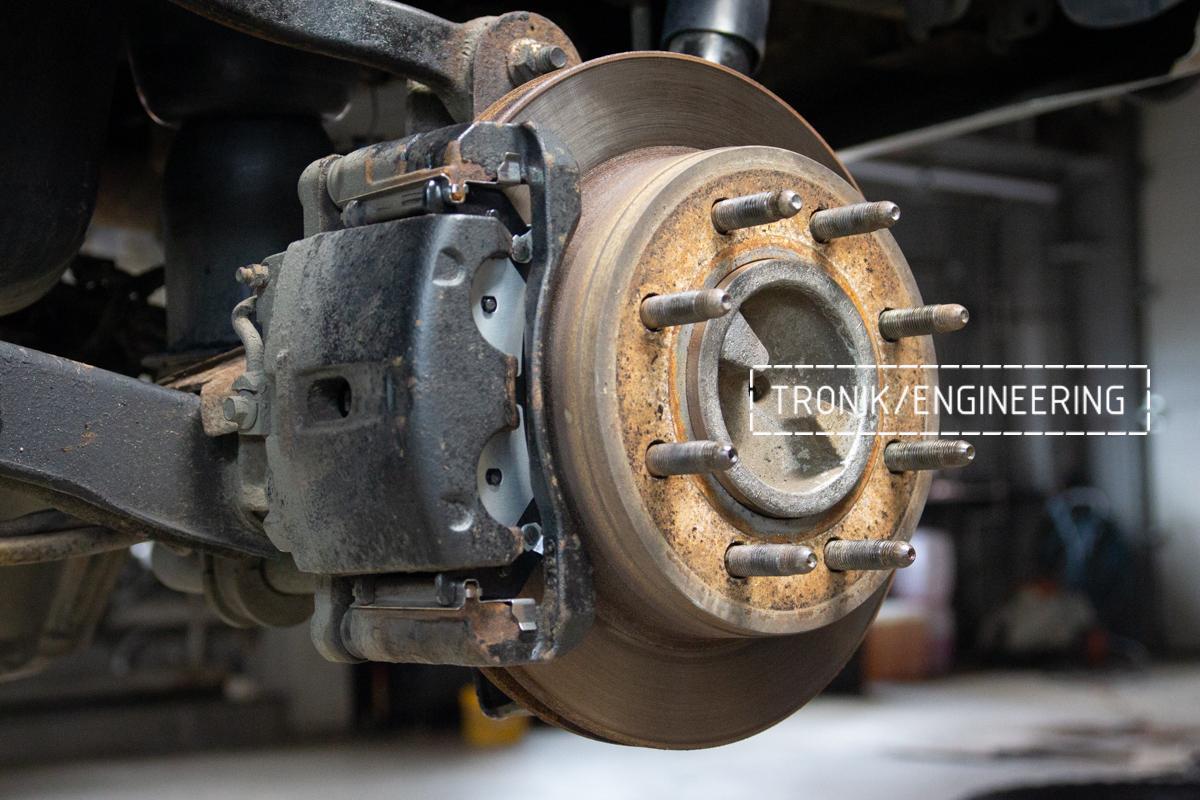 Тормозная система Hummer H2. Фотография 4