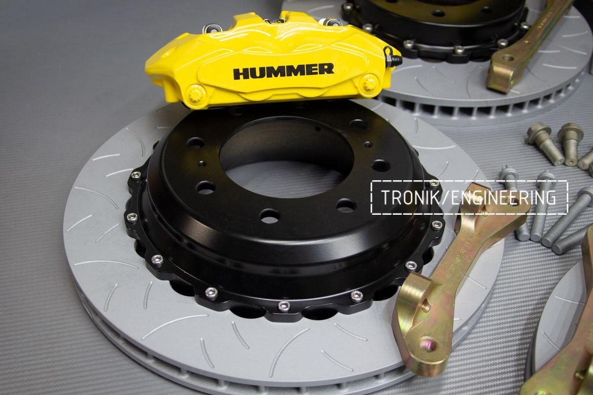 Тормозная система Hummer H2. Фотография 9