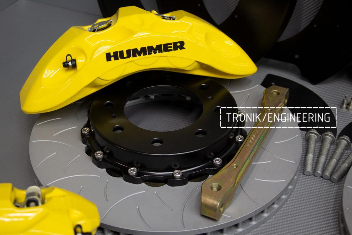 Тормозная система Hummer H2. Фотография 8