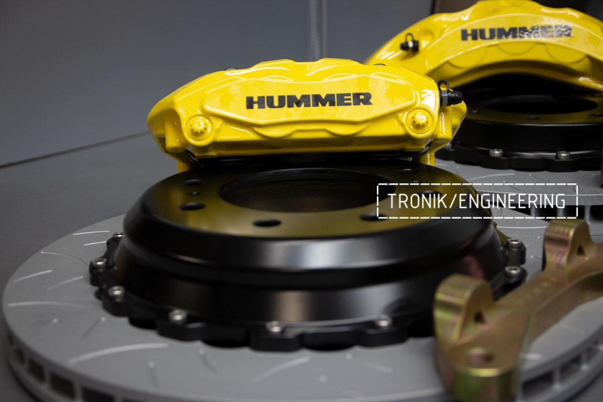 Тормозная система Hummer H2. Фотография 6