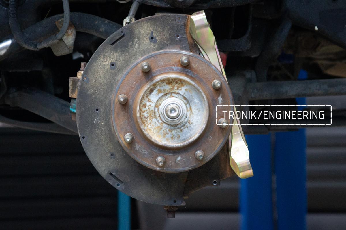 Тормозная система Hummer H2. Фотография 12