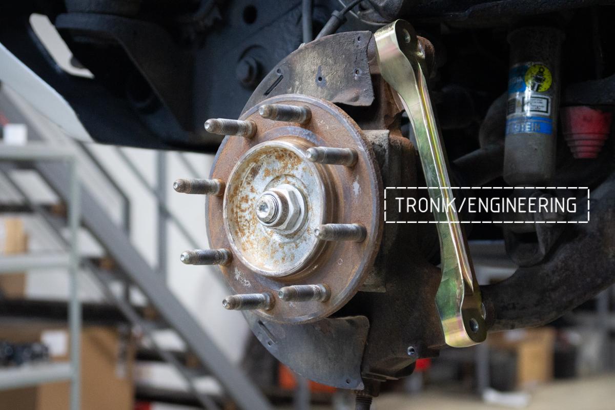 Тормозная система Hummer H2. Фотография 11
