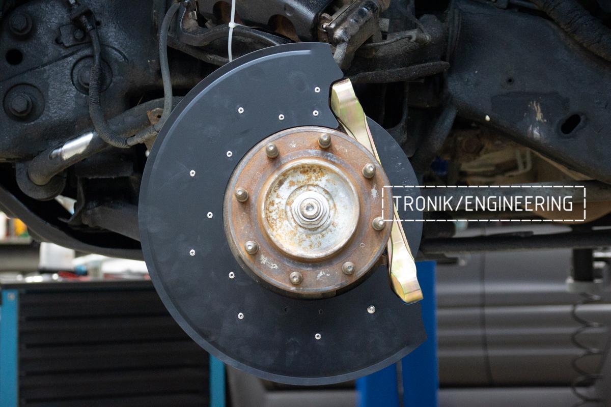 Тормозная система Hummer H2. Фотография 15