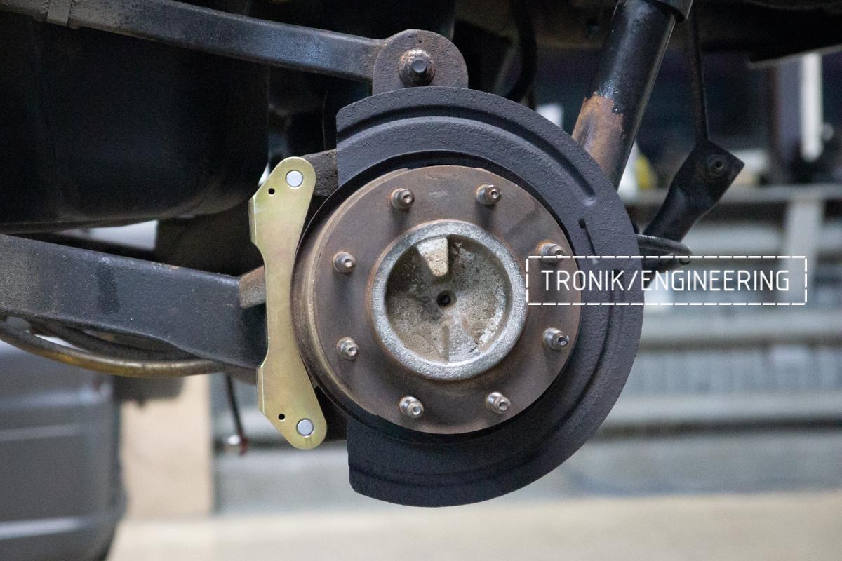 Тормозная система Hummer H2. Фотография 13