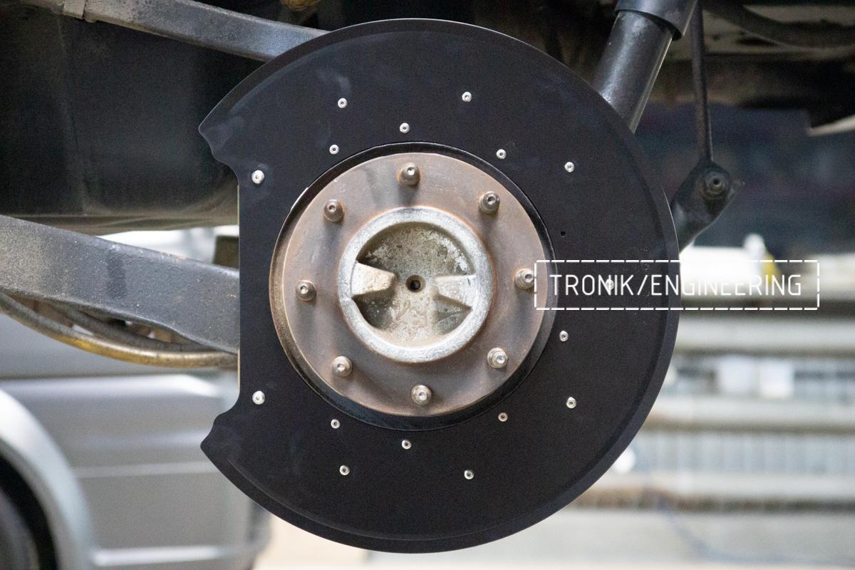 Тормозная система Hummer H2. Фотография 14