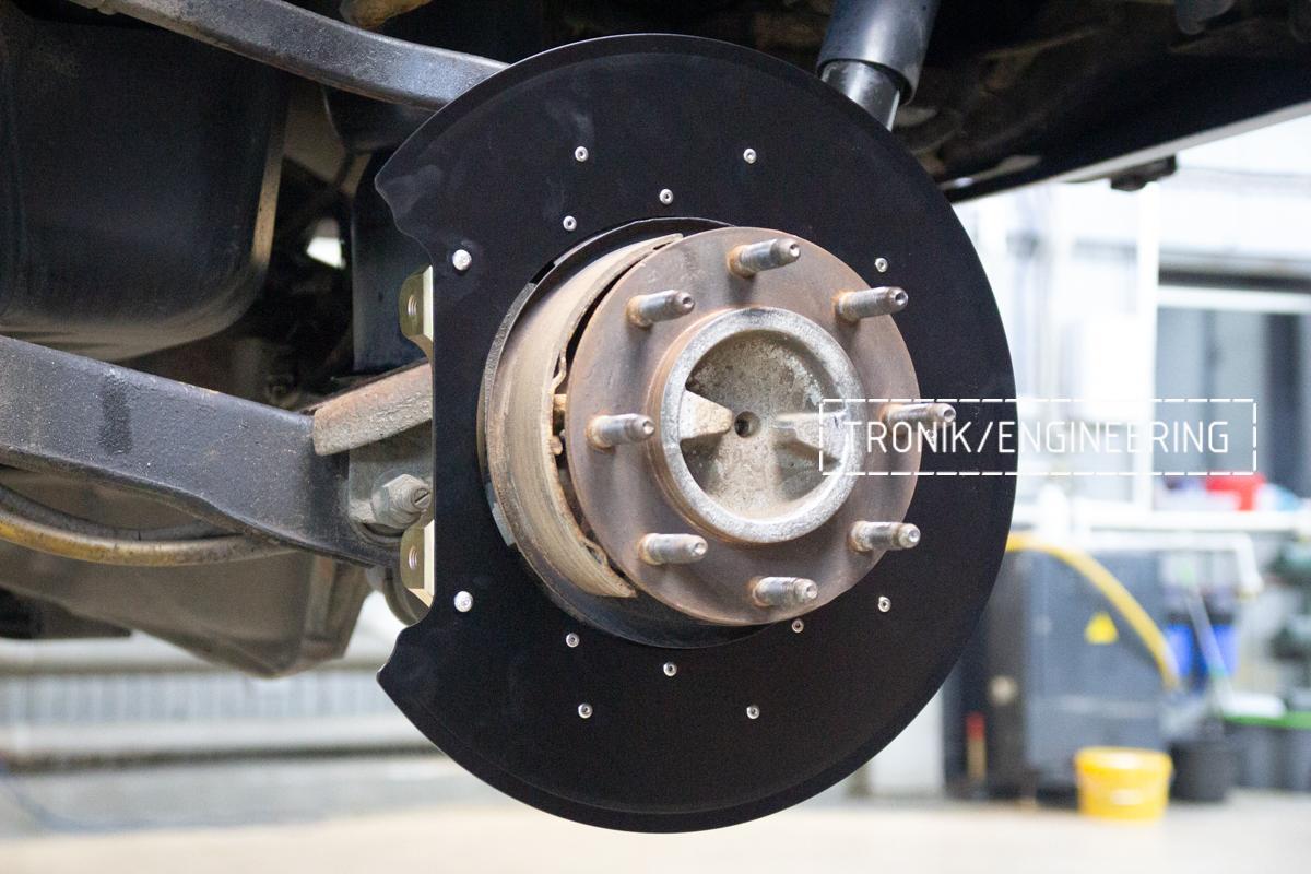 Тормозная система Hummer H2. Фотография 16