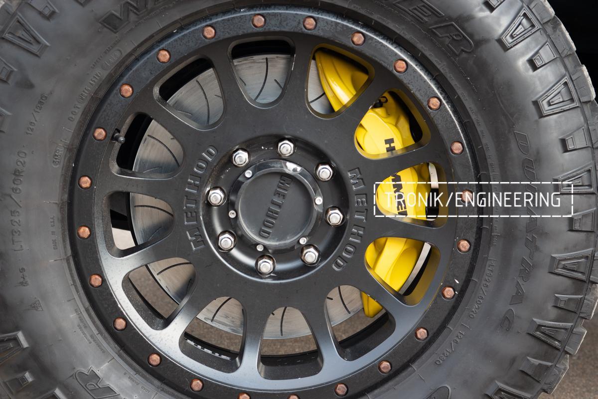 Тормозная система Hummer H2. Фотография 23