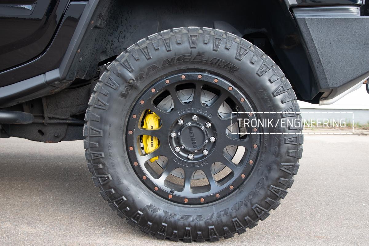 Тормозная система Hummer H2. Фотография 24