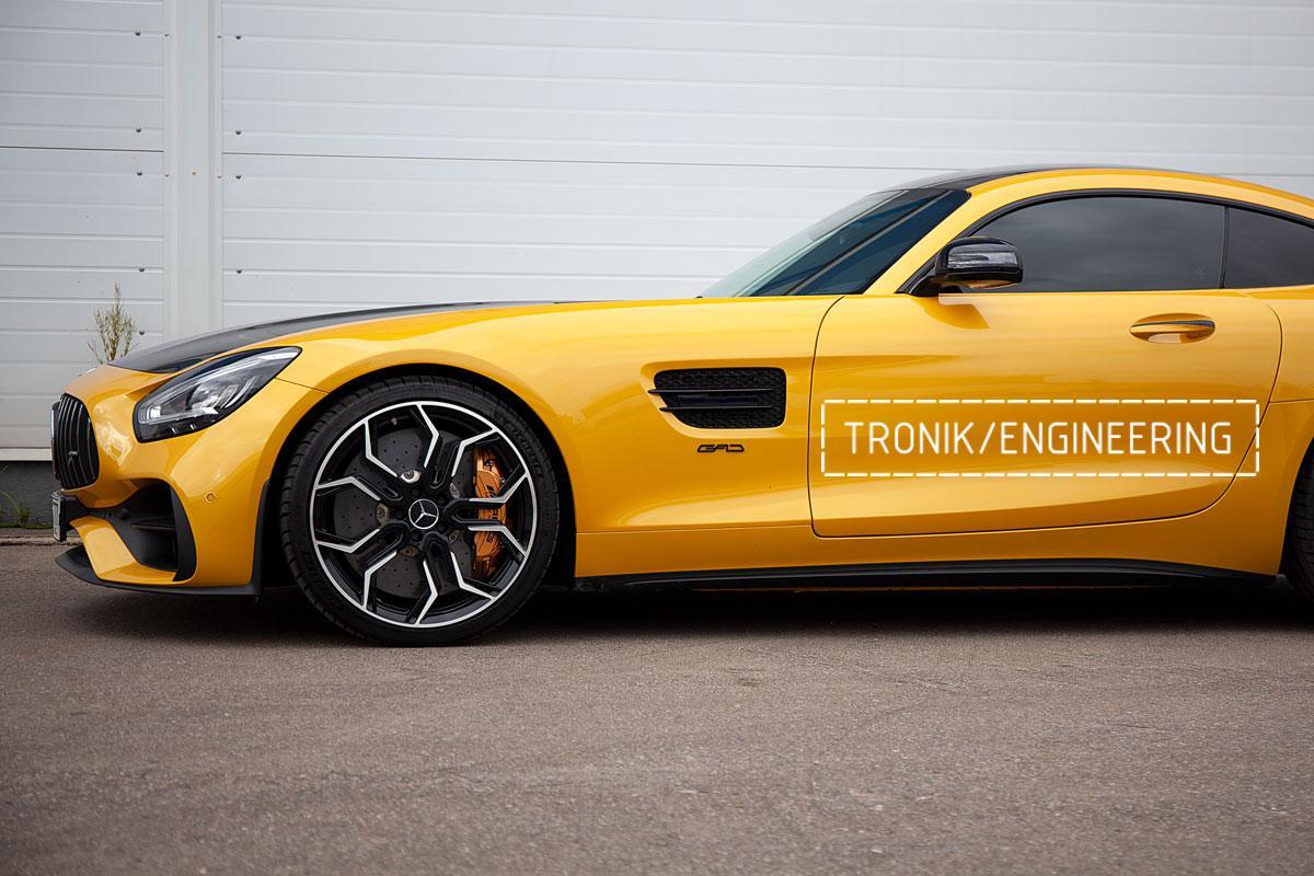 Карбон-керамическая тормозная система Mercedes-Benz AMG GT. Фотография 22
