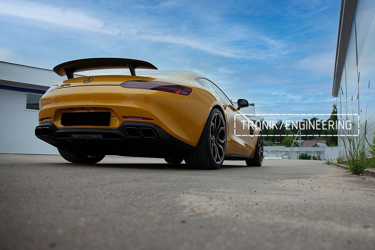 Карбон-керамическая тормозная система Mercedes-Benz AMG GT. Фотография 19