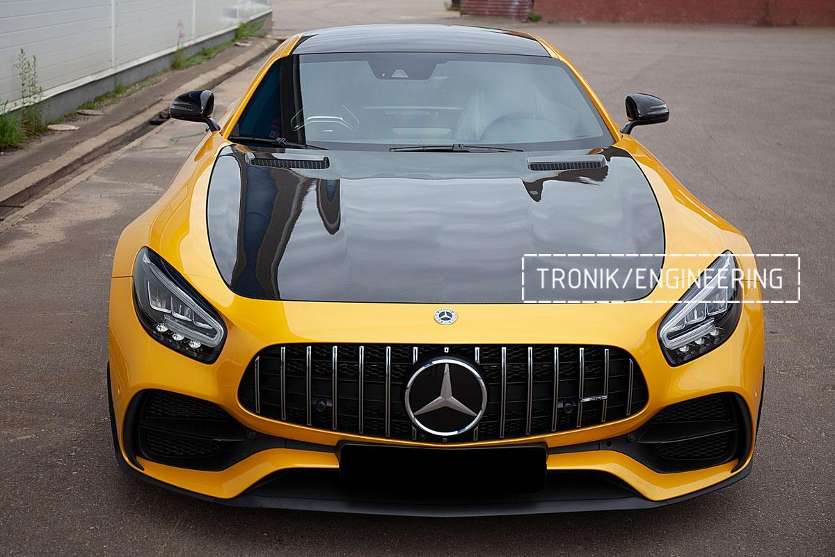 Карбон-керамическая тормозная система Mercedes-Benz AMG GT. Фотография 21