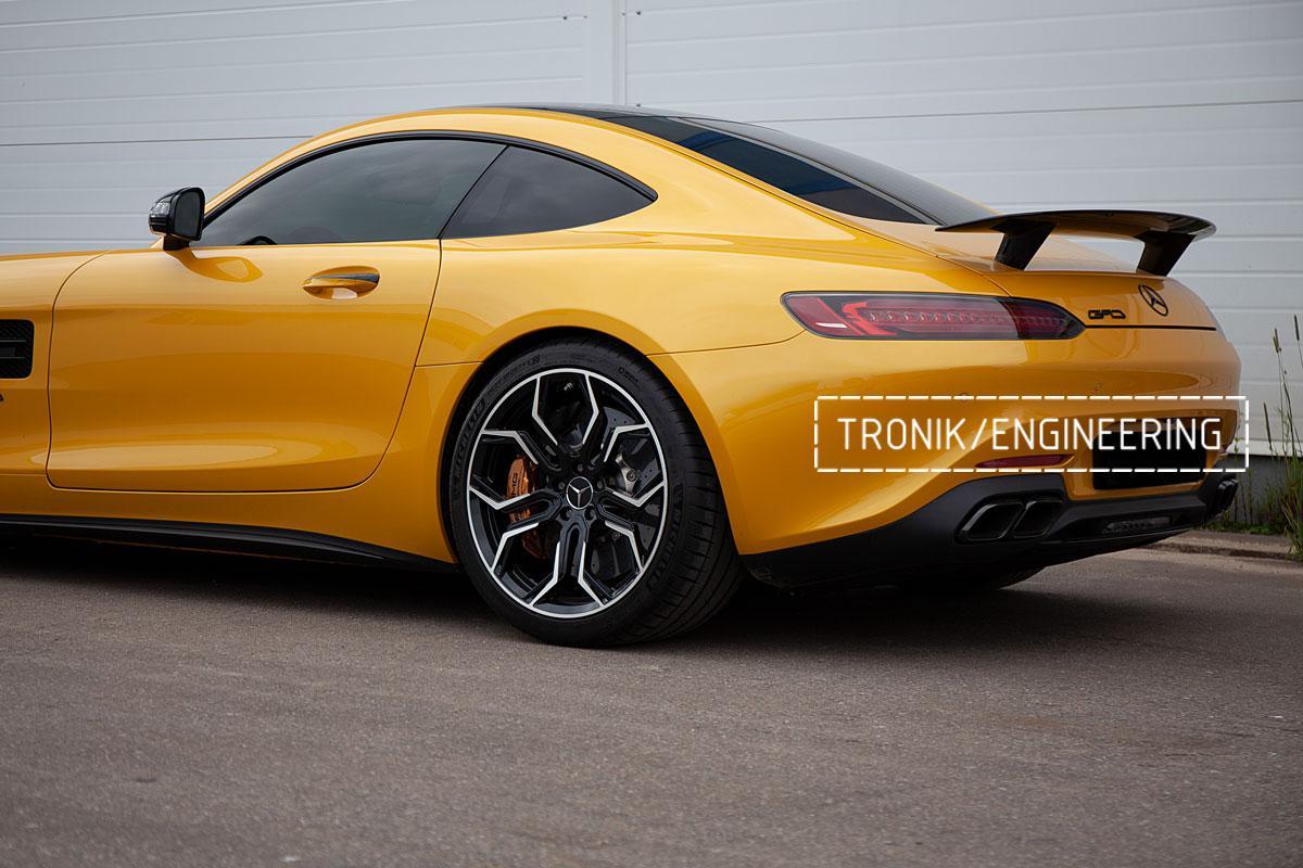 Карбон-керамическая тормозная система Mercedes-Benz AMG GT. Фотография 18