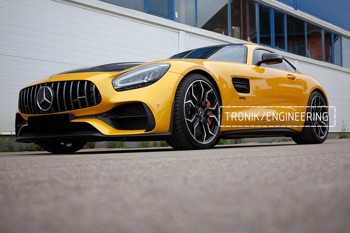 Карбон-керамическая тормозная система Mercedes-Benz AMG GT